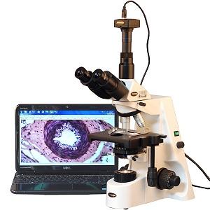 1.AmScope T690C-PL-10M Digital Trinocular