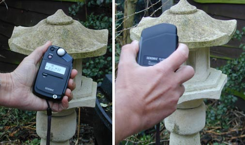 1.using a lightmeter