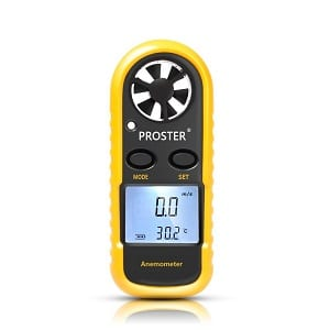 4.Anemometer, Proster Digital LCD