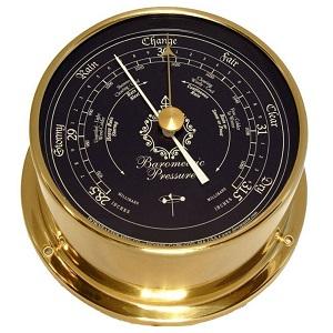 4.Downeaster Blue Dial Standard Barometer