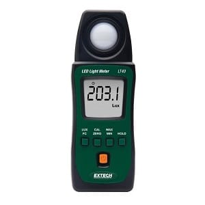 6.Extech LT40 LED Light Meter
